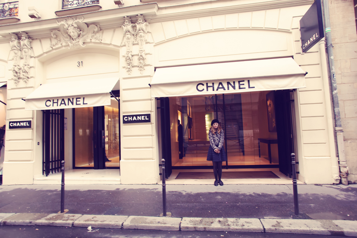 Tamara Röske in Paris