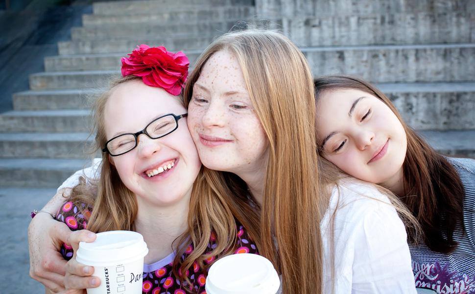 Tamara, Giuliana und Neele
